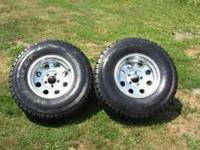 4 tires/wrims for Chevy S10 31x10.50 R15 LT 1095