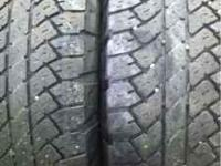 We have a set of 4 LT285/75R16 tires. All 4 are