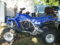 Selling a 2003 Yamaha Banshee in good condition. Call