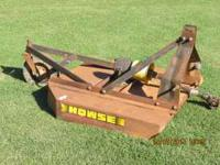 4ft Howse Bush Hog in great condition and ready to mow.