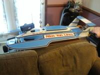 4ft long rc boat(never seen water besides to see it