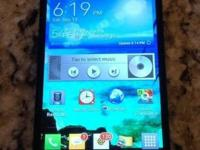 Hello:.  Presently selling a fresh, black LG Optimus