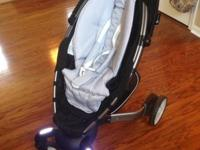 We have a 4Moms Origami Stroller with LCD, Daytime