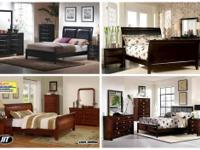 *4PC BEDROOM SET - SOLID WOOD QUALITY SET - $599