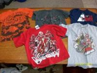 I have 5,4t boys short sleeve shirts give me a call at