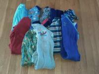 Zippered fleece foot pajamas are in great condition and