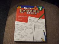 2 workbooks, New, good for homeschool families or extra
