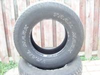 4 Trail Mark tires,P265-75R16 tires.Good shape$150 for