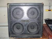 old sonic cab with new celestion speakers $150 firm