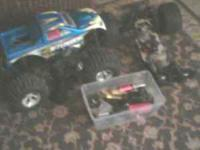 i have a losi aftershock 4x4 for sale or trade 250$ obo