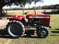 Massey Ferguson 205-4 diesel 4x4 tractor- 565 original