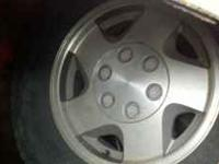 set of 4 4x4 chevy stock wheels from 93 silverado have