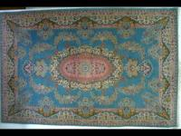 This is a very beautiful pattern rug made of 100% wool.