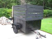 Fantastic all purpose trailer for Hunting, Fishing,