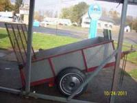 nice little trailer with ramp inside measurement is 4ft