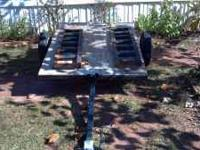 4x6 utility trailer great for lawnmower comes with