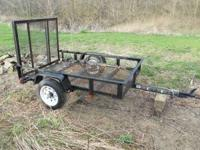Carry On 4X6 Utility Trailer with gate Less than 1 year