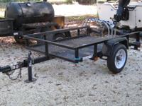 4x6 utility trailer from Tractor Supply, like new. 3