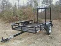 I have up for sale my 4x6 Utility trailer with a ramp
