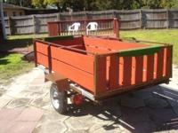 4x8 utility trailer in excellent condition. . Most of