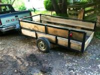 Hi, I am selling my 4X8 Utility Trailer. The trailer is