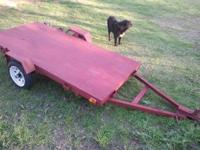 "4x8 utility Trailer for sale. It has 1 7/8"" tongue and"