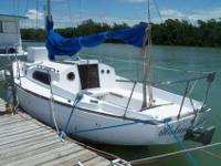 1969 Erwin 27' Sailboat - In good condition but needs