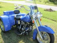 Rare Shovelhead Trike in excellent condition. 1977