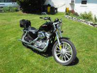 Selling my 2006 Harley Sportster XL883 with only 2,600