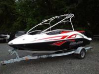 2008 Sea Doo Speedster 200 Wake boat with the optional