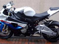 really clean & nice Tri Color 2010 BMW S1000RR. This