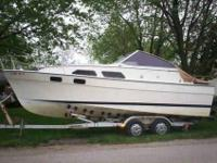 1981 Bayliner Cabin Cruiser, 26ft Mercruiser 350, power