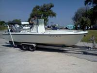 19' North American Center console boat for sale. Comes