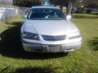 $5,000.00 OBO. This Impala has a 3.4 liter V6 with an