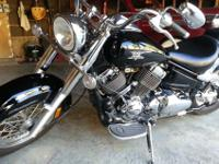 2007 Yamaha V Star 650 Classic with only 2,250 miles on