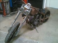 2012 Custom Chopper project 90% complete, 990 KTM