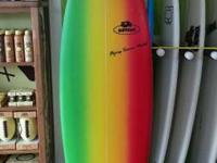 "Brand brand-new 5'10"" Savage Surfboard w/fins included."