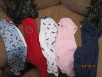 5 - 12 month fleece PJ's. All zippers in perfect