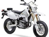 2009 SUZUKI DR-Z400SM, White, how's this for a red-hot