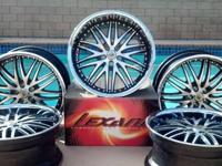 5 Beautiful Lexani Lx10 Rims. 2 Yrs Old. No Scratches