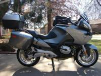 2006 BMW R1200RT. This motorcycle has 18,008 miles on