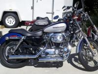 2006 Harley Davidson 1200 Custom with Screaming Eagle
