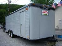 ENCLOSED TRAILER, Haulmark 20' bumper pull, dovetailed,