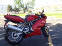 My 2005 Ducati 800 ss with very low miles only 3,000
