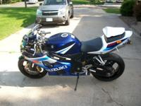 2005 GSXR 600$5,200 OBOBike is in great condition. Very