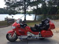 2004 Honda Goldwing. It has less than 16000 miles, the