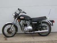 1977 Triumph Tiger, Model T140. Actual miles are
