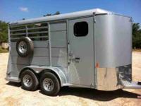 2013 Delta 500ES Slant Horse Trailer Combo Stock
