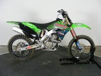 2012 clean clean clean KX250F. This mean green is ready