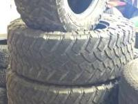 Up for sale is (5) 35 x 12.50 / 20 Nitto Trail Grappler